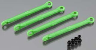 Toe link, front & rear, green (molded co