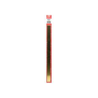 KS Metals Brass Strip .5Mm X18Mm X300Mm3Pcs