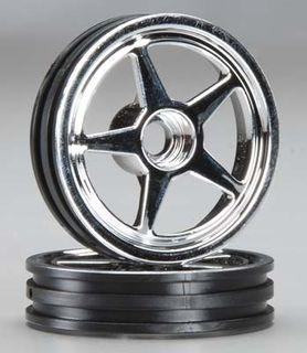 Wheels, 5 spoke chrome