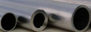 ROUND ALUMINUM TUBE 7MM OD X 300MM 2PCS