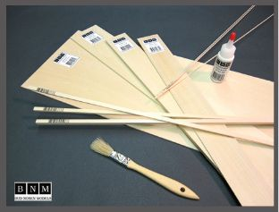 24x1/32x3/32 in. ( PS-55 ) BASSWOOD *