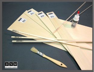 24x3/32x3 in. ( PS-15 ) BASSWOOD *