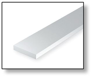 STYRENE STRIPS .015 X .156 IN (10)