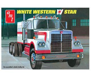 AMT 1:25 White Western Star Semi Tra*D