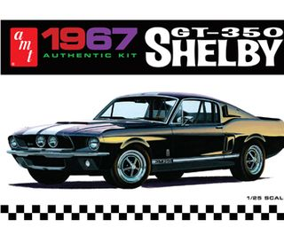 AMT 1:25 67 Shelby Gt350-White