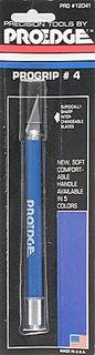 Proedge #4 Blue Progrip Knife W-Cap