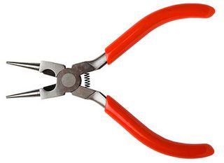 ROUND NOSE PLIER W-SIDE CUTTER *