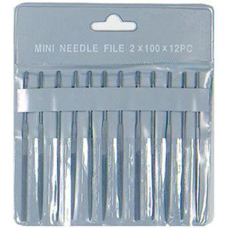 Proedge Mini Needle Files 12 Asstd