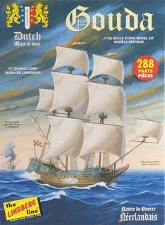 Lindberg 1/25 Gouda Dutch Man Of War *