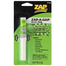 Zap Adhesive Ca Pen 0.07Oz Carded Pacer