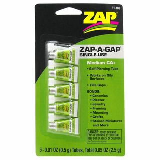 Zap Adhesive Ca 0.01Oz One Use Pacer