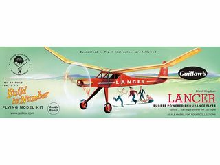 Guillows Lancer Model Kit *