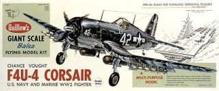 Guillows Corsair 3/4 Scale Model Kit