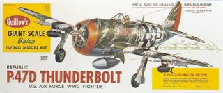 Guillows Thunderbolt 3/4 Scale Kit *