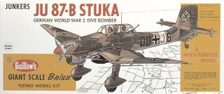 Guillows Stuka 3/4 Scale Model Kit