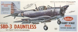 Guillows Dauntless 3/4 Scale Kit