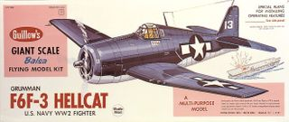 Guillows Hellcat 3/4 Scale Model Kit