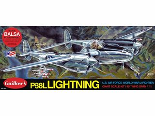 Guillows P-38 Lightning 1:16 Scale *
