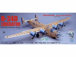 Guillows B-24D Liberator 1:28 Kit