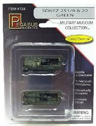 Pegasus 1/144 1/2 Track German Summer Col. 2Pcs