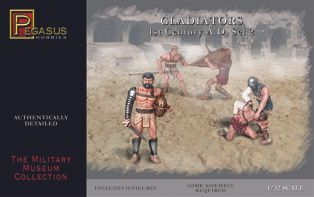 Pegasus 1/32 Gladiator Set 2 (10 Figs) *
