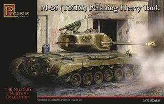 Pegasus M-26 ( T-26E3 ) Pershing Hvy Tank  1:72