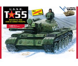 Lindberg 1/35 Ussr T-55 Tank*