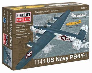 Minicraft 1/144 Pb4Y-1 Usn