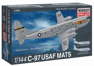 Minicraft 1/144 C-97 Usaf Mats W/2 Marks