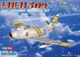 Hobbyboss 1:72 F-86F-30 Sabre Fig