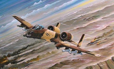 Hobbyboss 1:72 A-10A Thunderbolt*