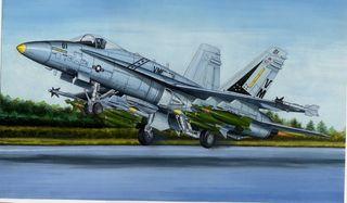 Hobbyboss 1:48 F/A-18A Hornet