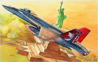 Hobbyboss 1:48 F/A-18C Hornet*