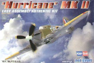 Hobbyboss 1:72 Hurricane Mk Ii