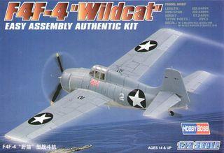 Hobbyboss 1:72 F4F-4 Wildcat