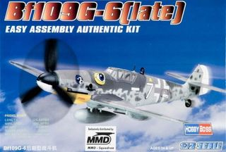 Hobbyboss 1:72 Bf109 G-6 (Late)