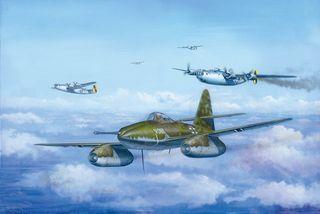 Hobbyboss 1:48 Messerschmitt Me 2