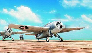 Hobbyboss 1:48 F4F-3 Wildcat Lt*