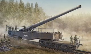 Hobbyboss 1:72 Gmn 280Mm K5(E) Ra