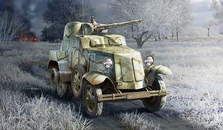 1:35 Soviet BA-10 Armor*
