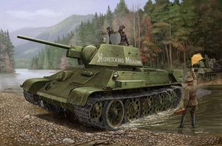 Hobbyboss 1:48 Russian T-34/76 (*