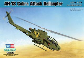 Hobbyboss 1:72 Ah-1S Cobra Attack
