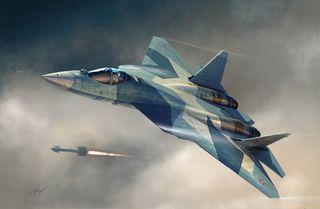 Hobbyboss 1:72 Russian T-50 Pak-F