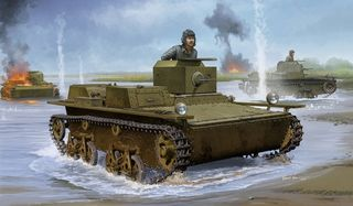 Hobbyboss 1:35 Soviet T-38 Amph *D