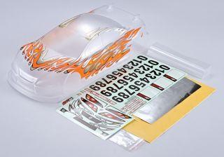 L.Weight Racing Body(190mm)Fluoro Orange