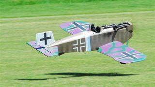 Balsa Usa 1/4 Junkers D-1 Kit 88 Ws 35-62Cc Gas*