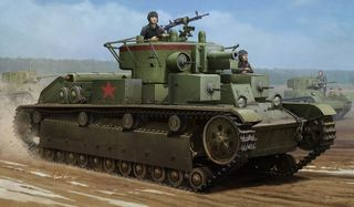 Hobbyboss 1:35 Soviet T-28 Medium*