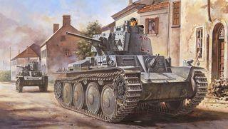Hobbyboss 1:35 German Pz.Kpfw/Pz.Bfwg 38(T)Ausfb *