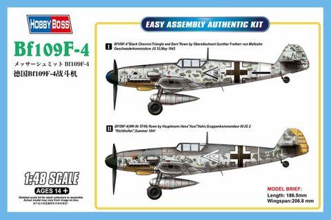 Hobbyboss 1:48 Bf109 F4