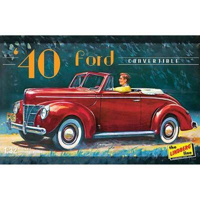 Lindberg 1/32 1940 Ford Convertible